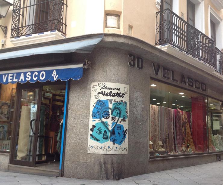 Almacenes Velasco situados en el Centro de Sevilla