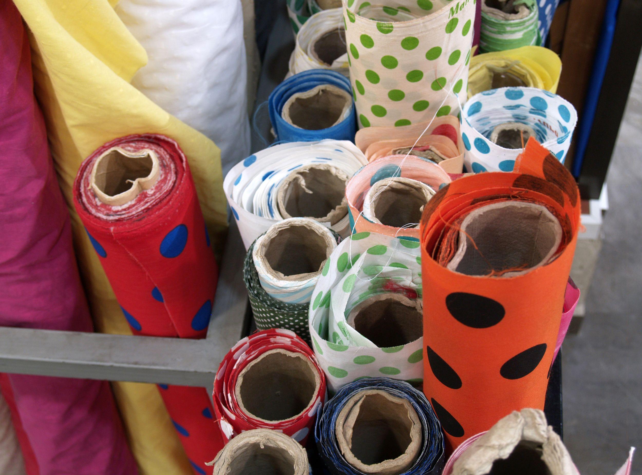 Venta de telas y tejidos en Sevilla