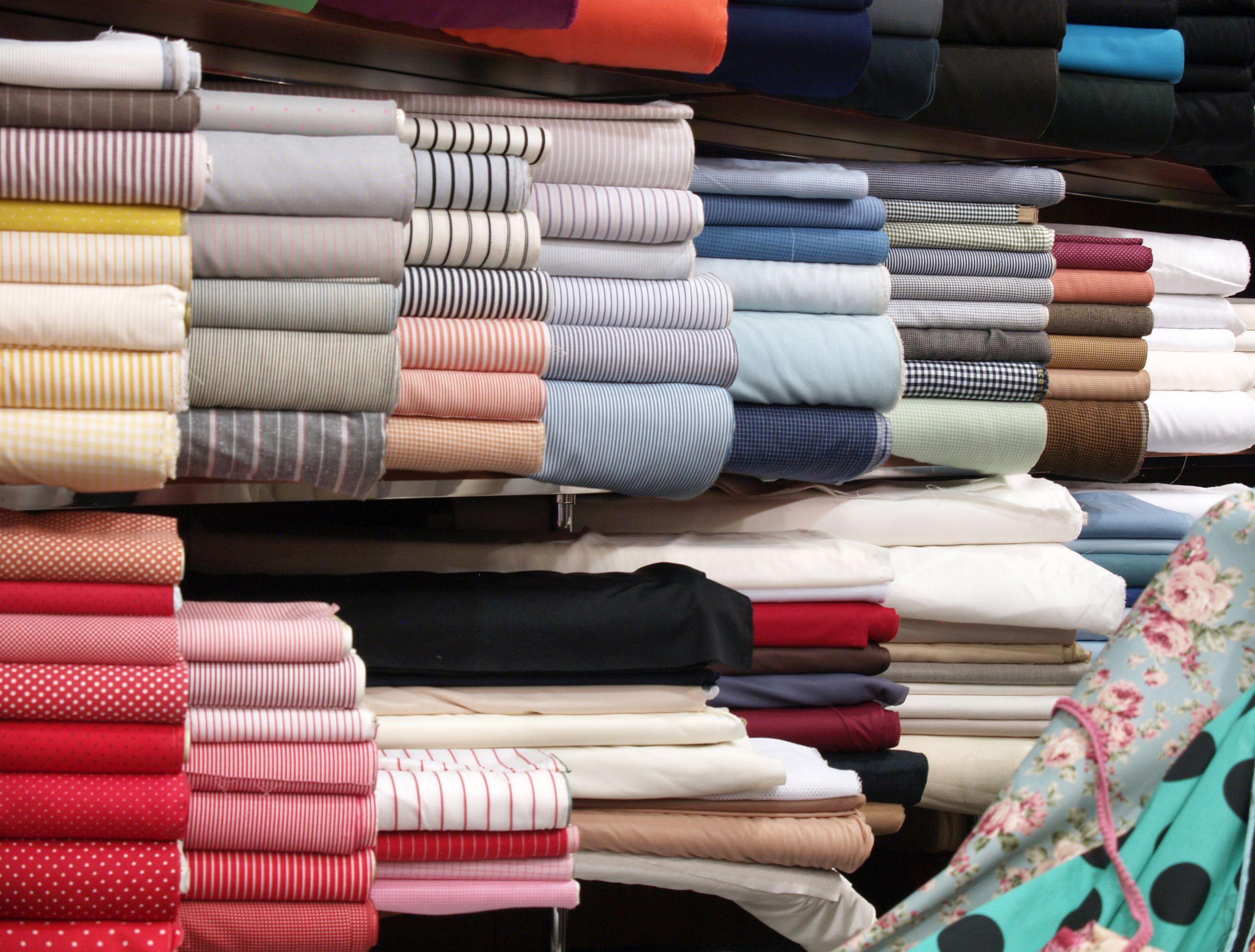 Almacén de tejidos en Sevilla