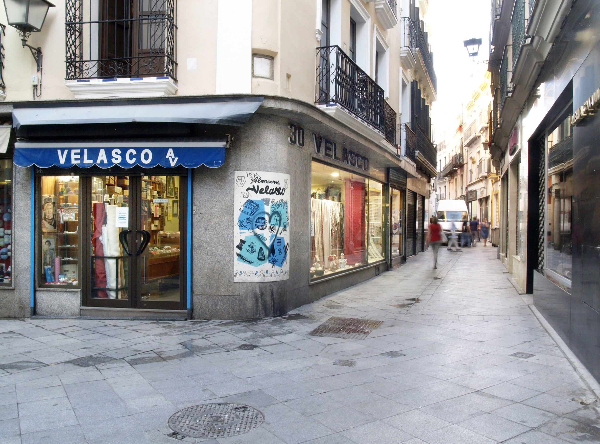 Tienda de telas en Sevilla