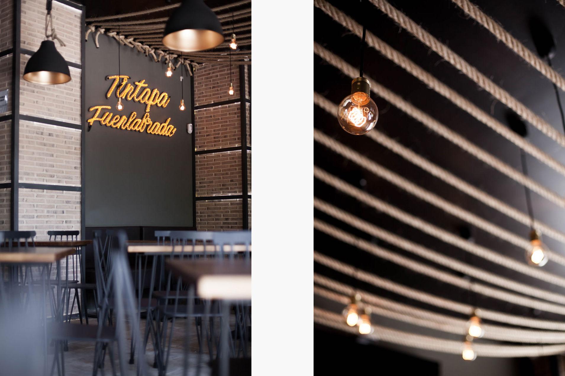 Restaurante Tintapa Fuenlabrada: Proyectos de 022estudio