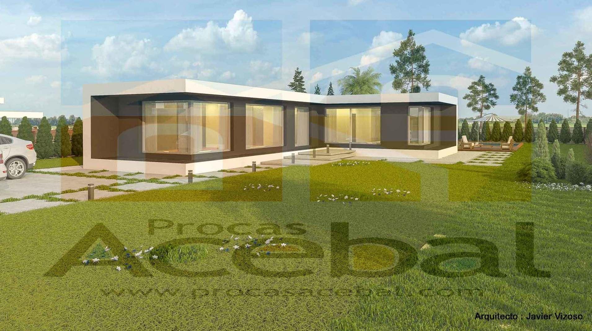 Construccion vivienda de hormigon de diseño
