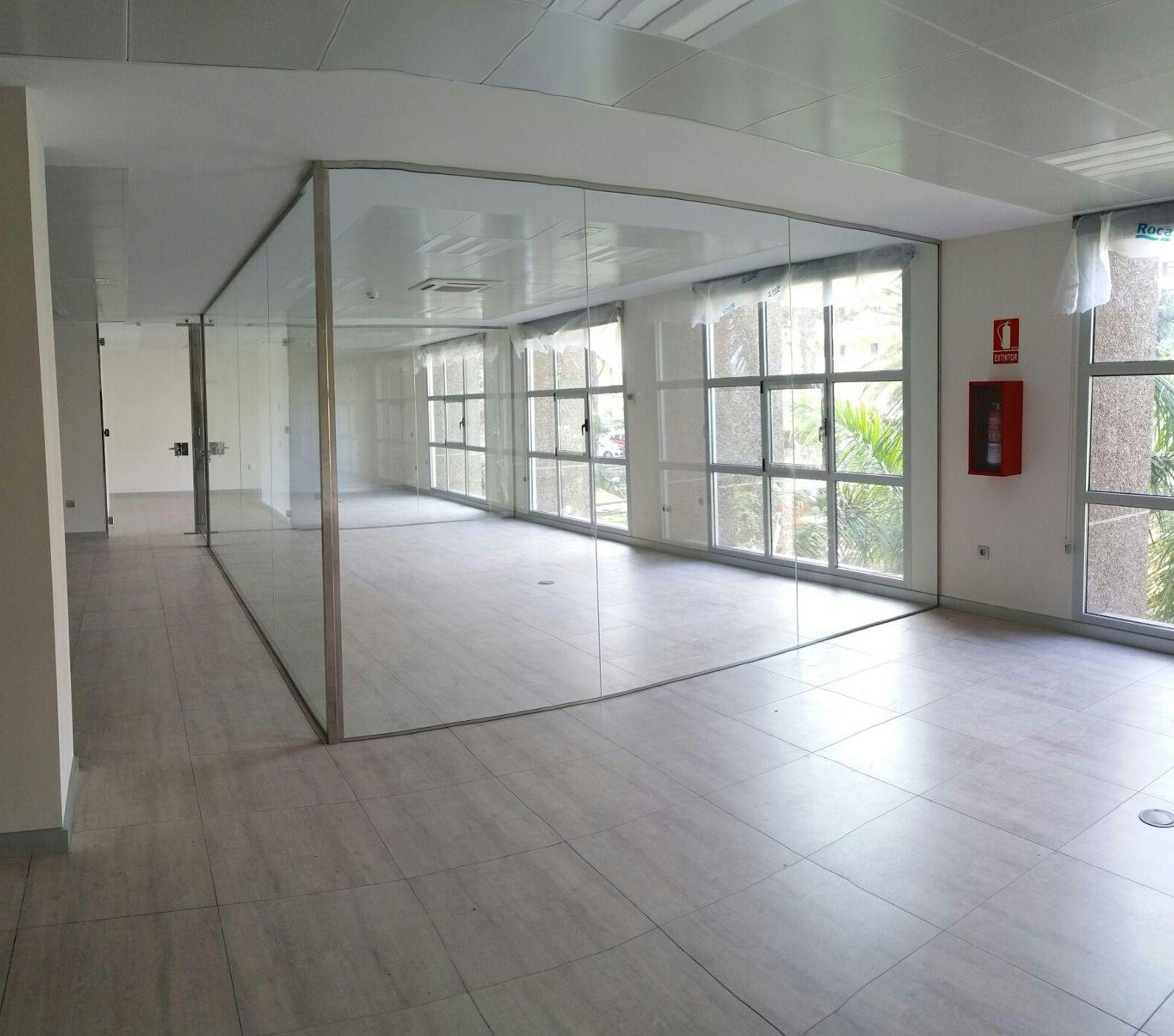 División en cristal Tenerife