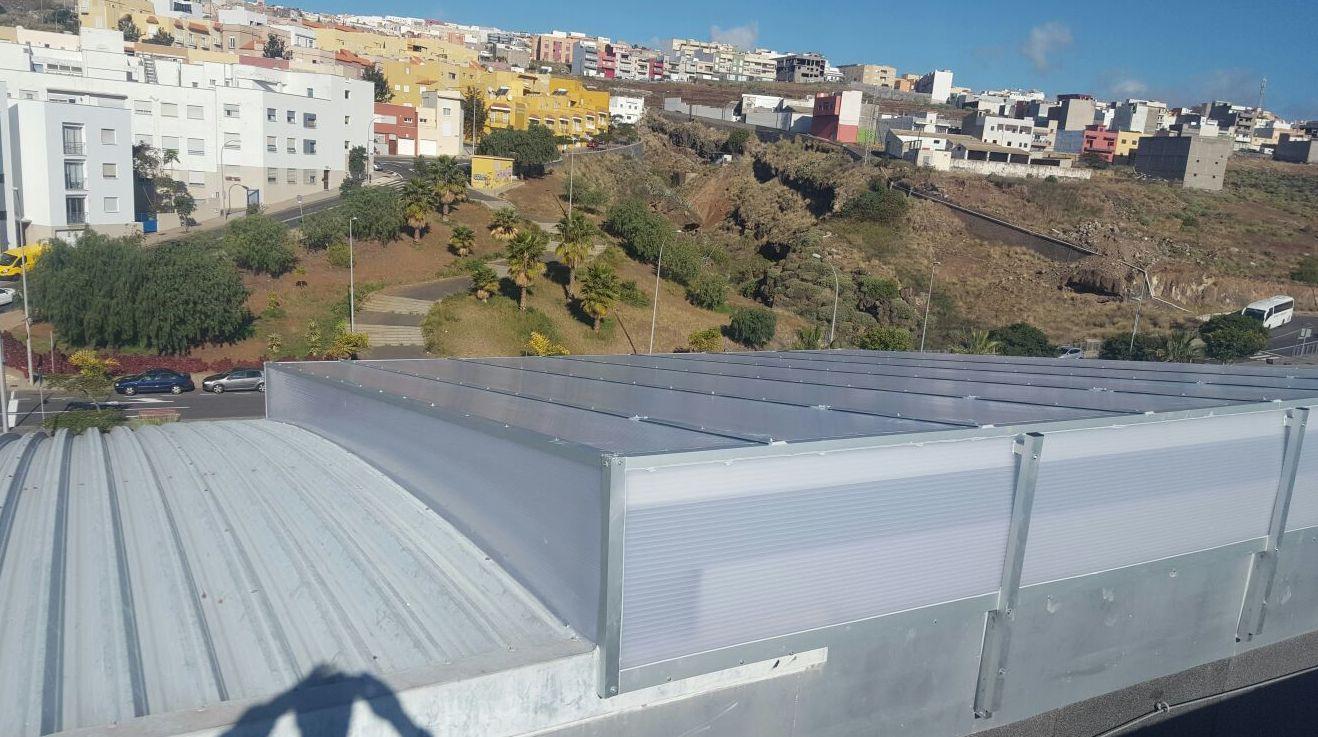 Instalación de tejados en Tenerife