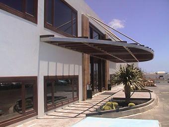 Foto 2 de Aluminio en Tias | Cristalería Lanzarote