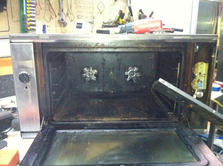 Reparacion de hornos industriales