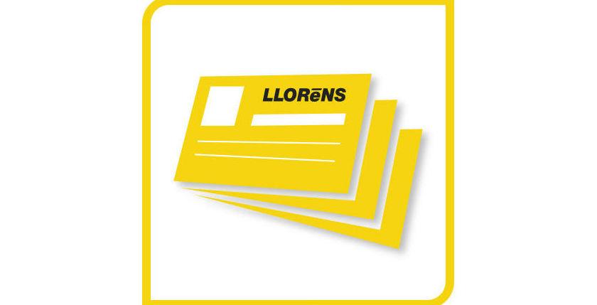 Tarjetas de visita: Productos y Servicios de Imprenta Llorens