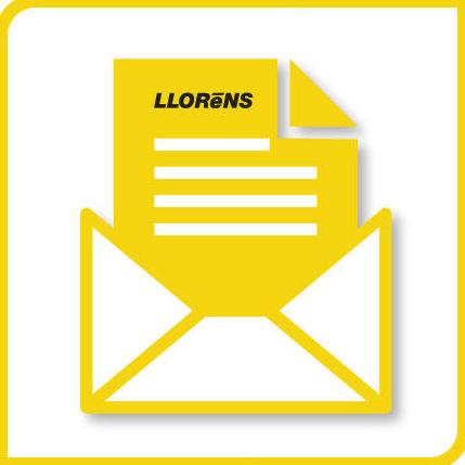 Cartas, Facturas, Papel impreso: Productos y Servicios de Imprenta Llorens