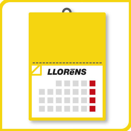 Calendarios con Faldilla: Productos y Servicios de Imprenta Llorens