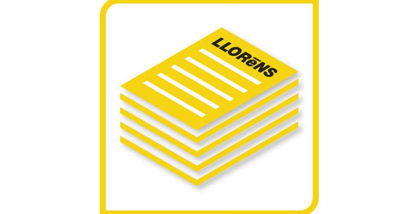 Flyers: Productos y Servicios de Imprenta Llorens