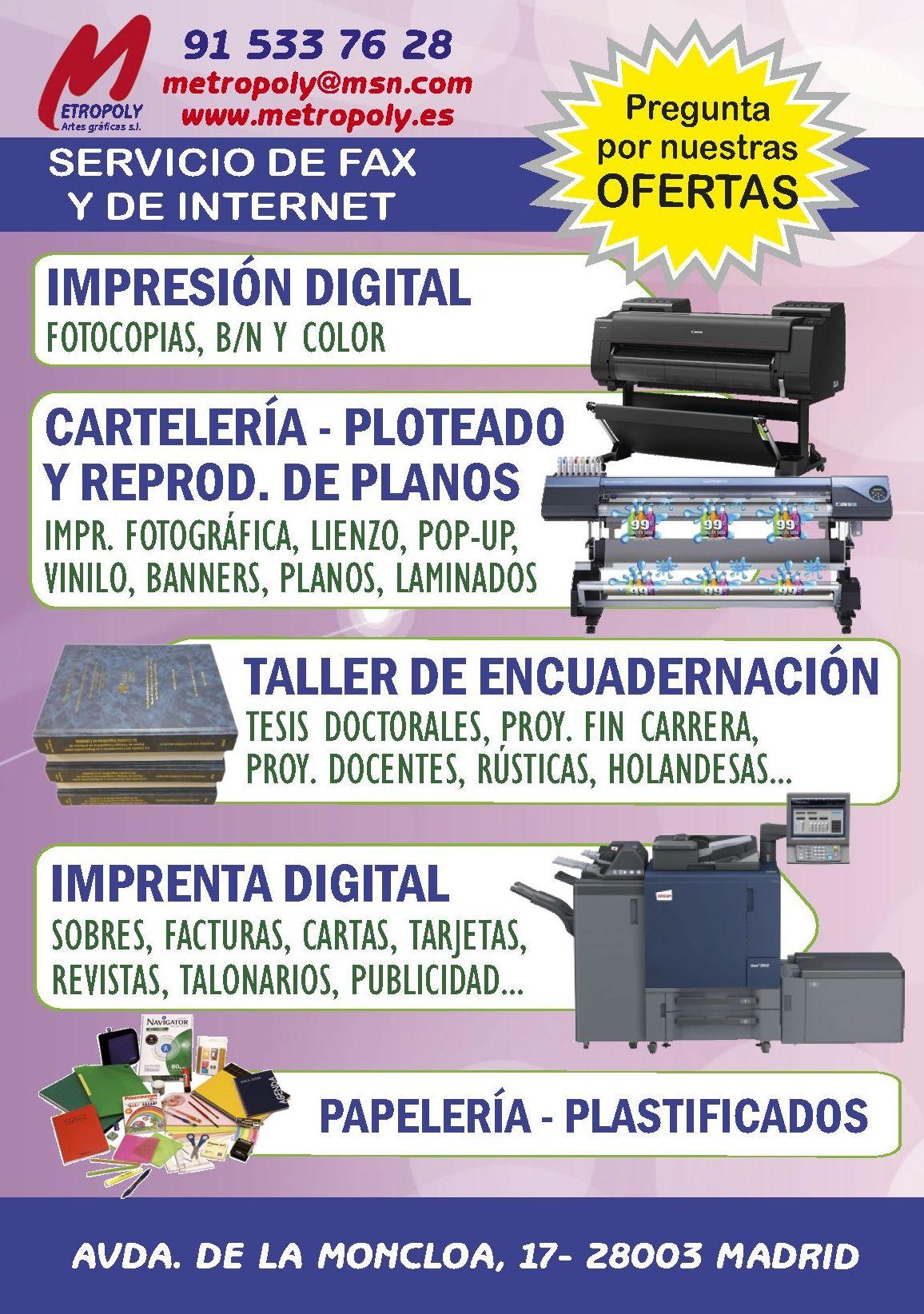 Foto 3 de Artes gráficas en Madrid | Grupo Metropoly Artes Gráficas