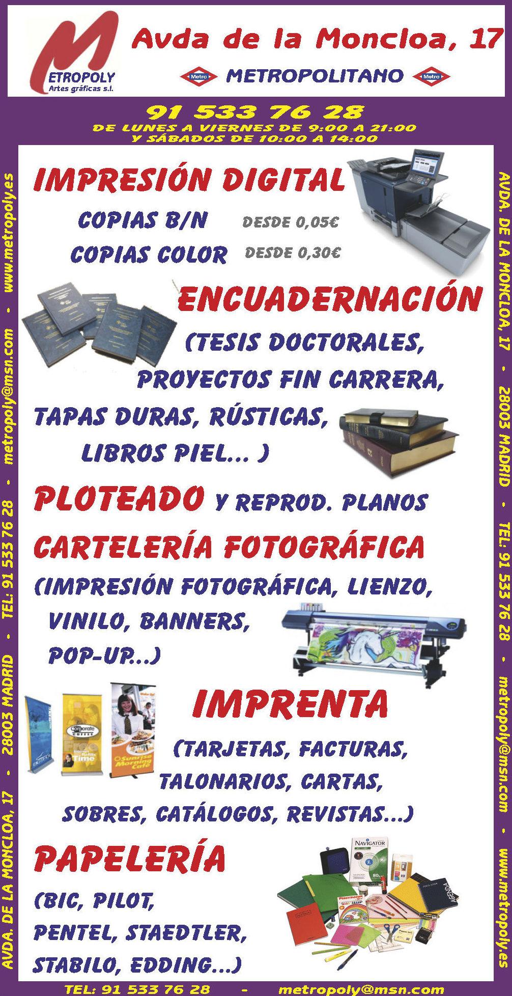 GRUPO METROPOLY ARTES GRÁFICAS
