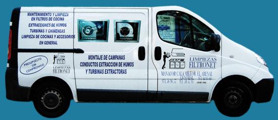 Foto 9 de Chimeneas y calderas (limpieza) en Son Servera | Limpiezas Filtro net