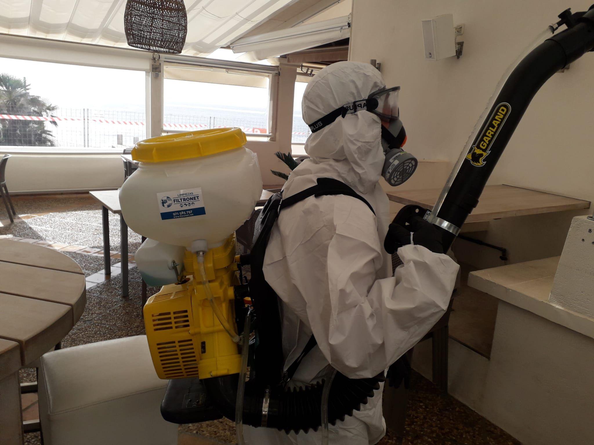 Nuevo Servicio. Sistema de desinfección por OZONO. COVID 19: Servicios de Limpiezas Filtro net