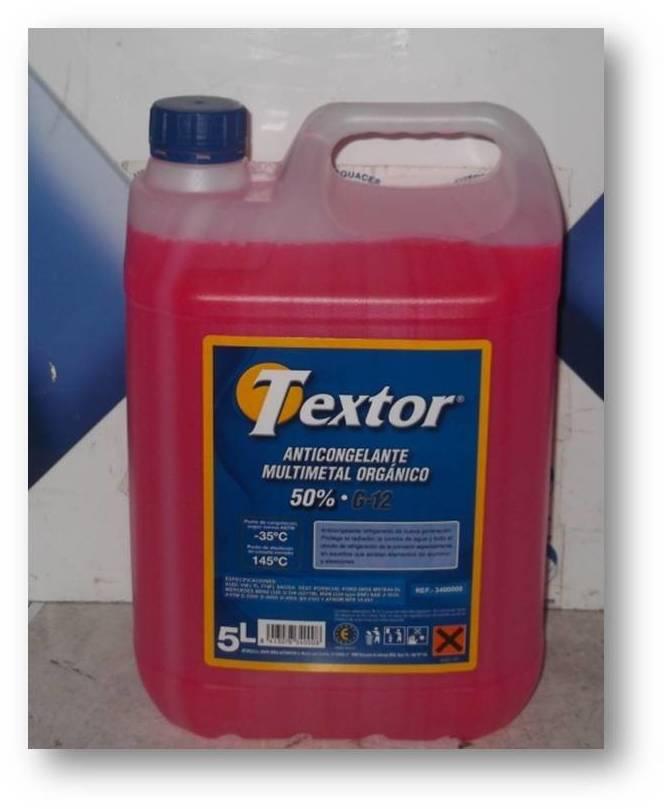 Liquido Anticongelante 50% Textor: Catálogo de Autodesguaces De Blas