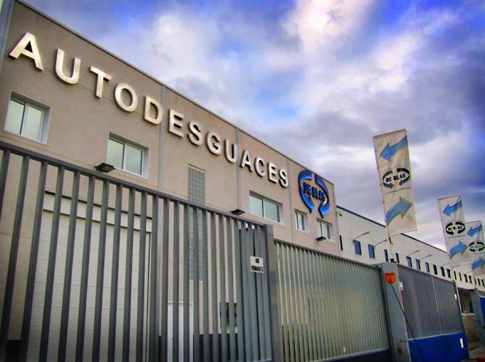 Foto 6 de Desguaces y chatarras en Leganés | Autodesguaces De Blas