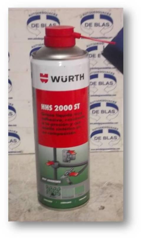 Grasa liquida HHS 2000 ST Wurth: Catálogo de Autodesguaces De Blas
