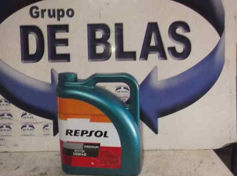 Aceite motor Repsol 10W40 5L.: Catálogo de Autodesguaces De Blas