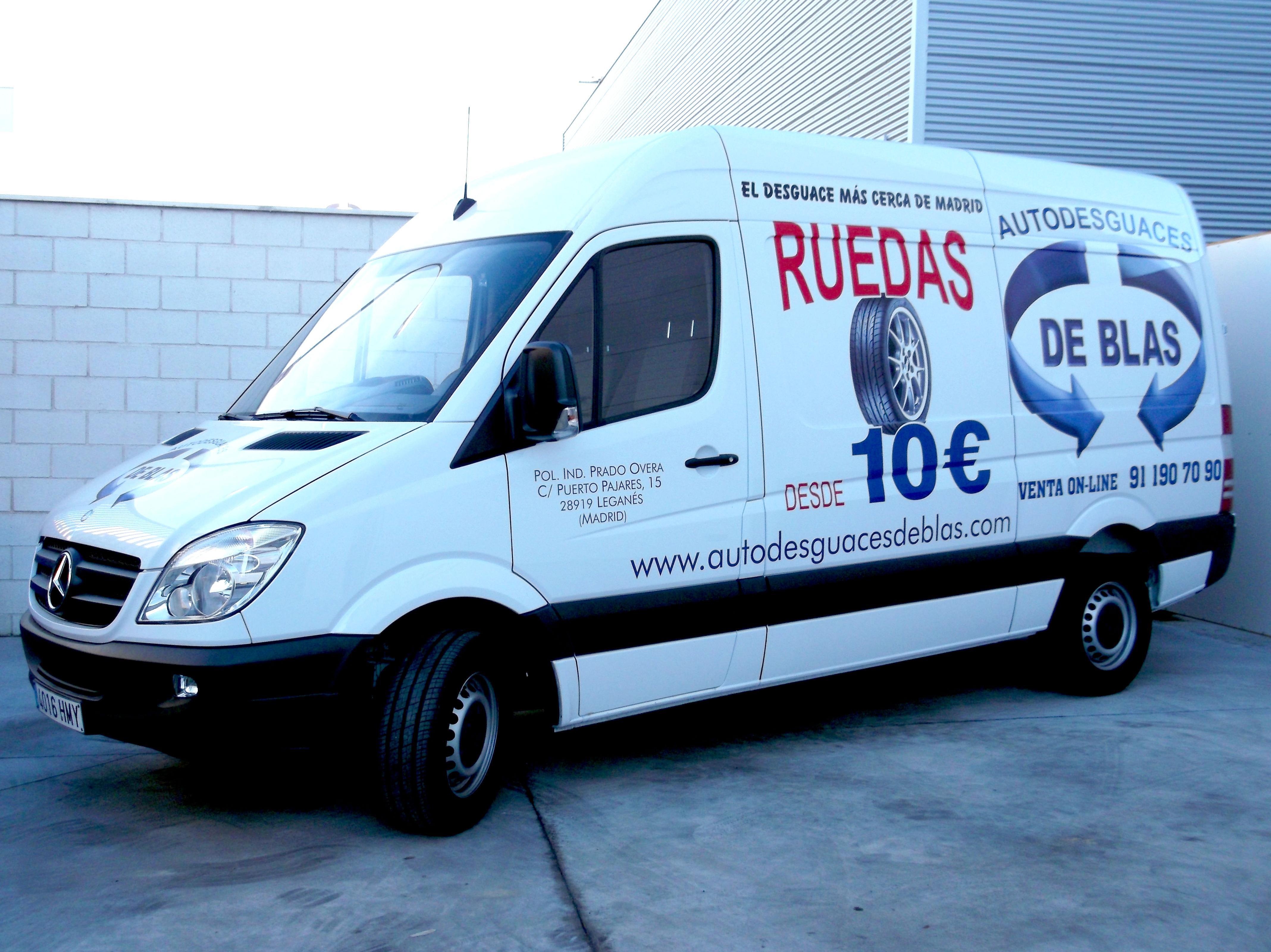 Foto 20 de Desguaces y chatarras en Leganés | Autodesguaces De Blas