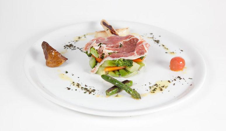 Restaurante El Caserío, cocina vasca