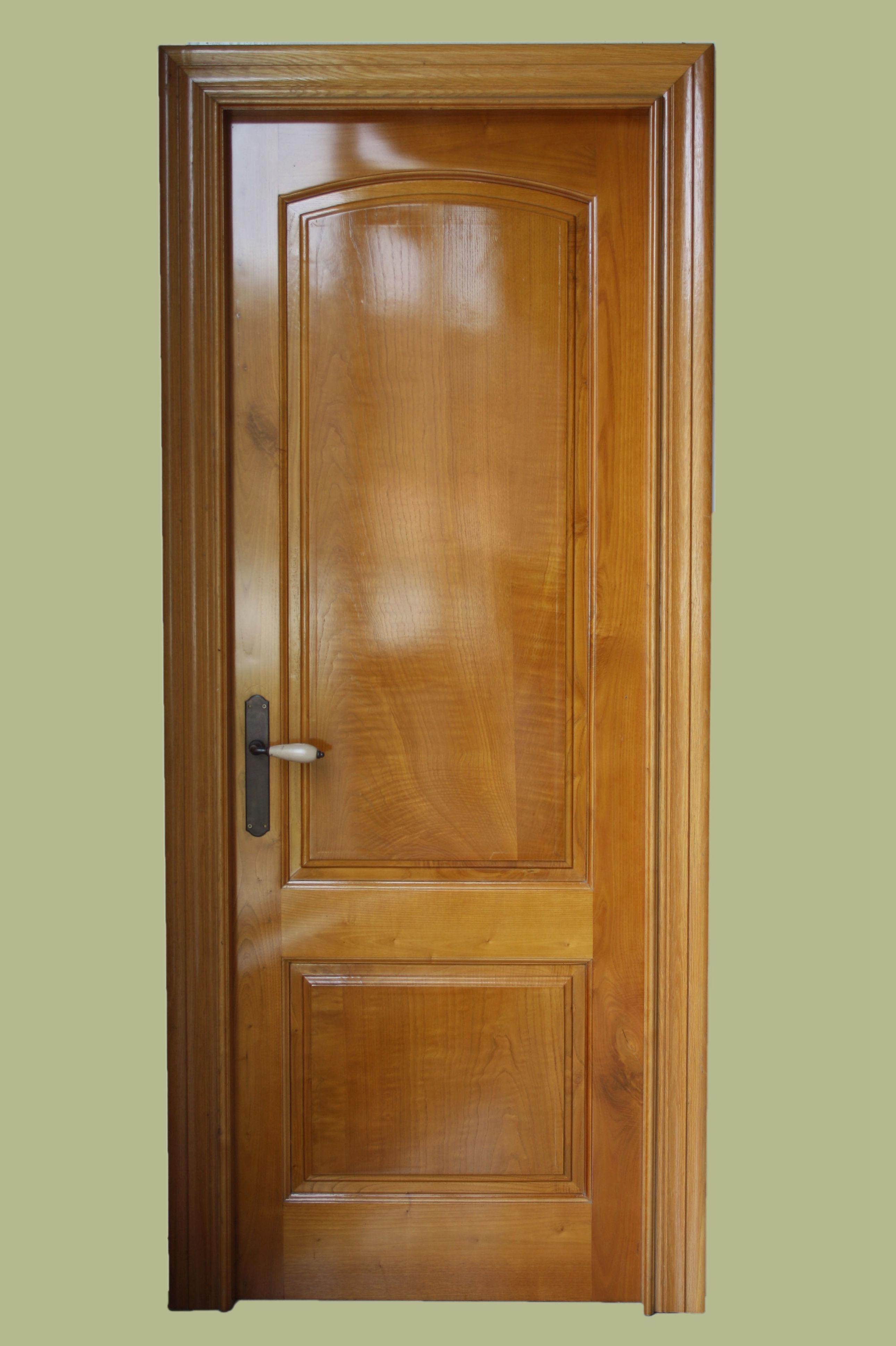 Mod maciza ciega casta o cat logo de puertas y armarios videco - Puertas de castano ...