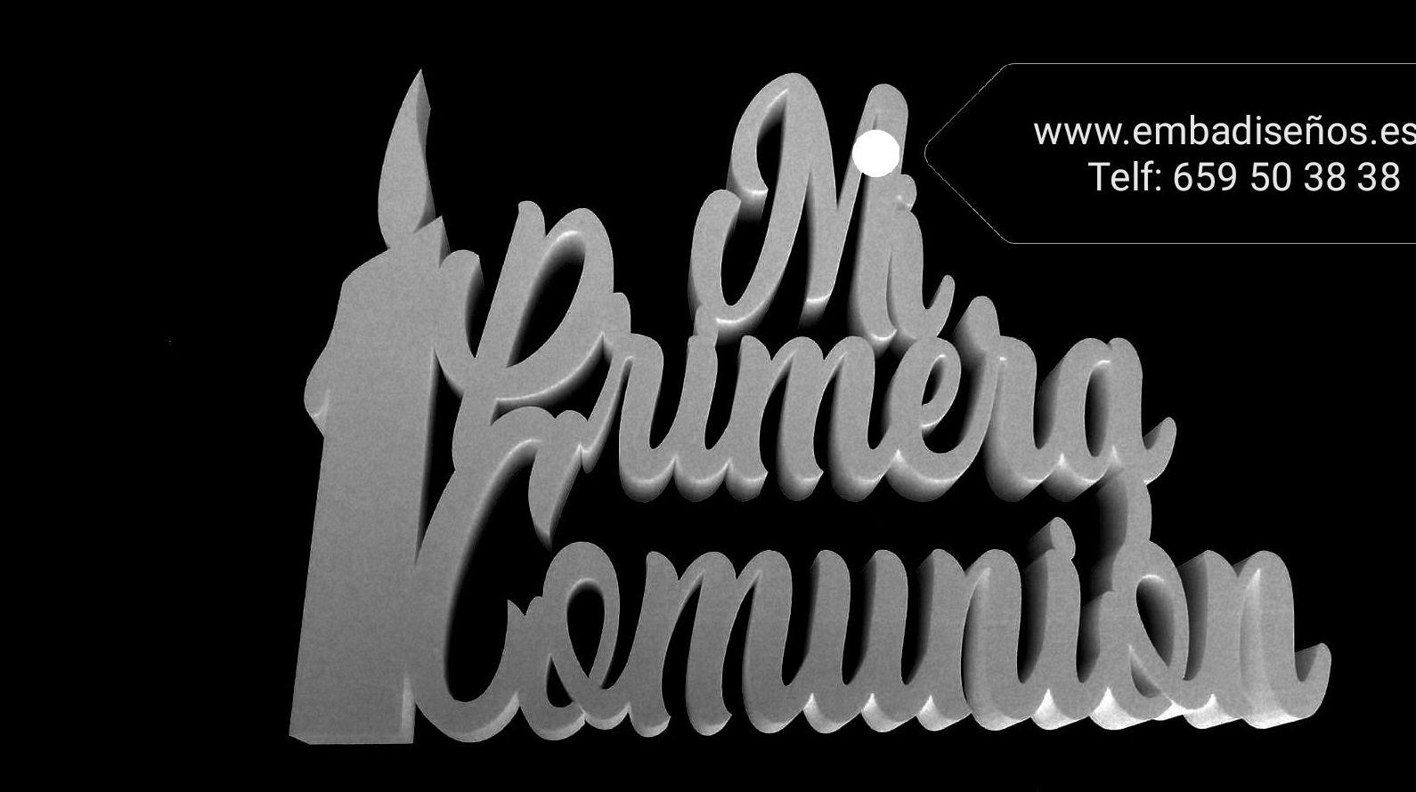 MI PRIMERA COMINION EN POLIEPAN, CORCHO BLANCO