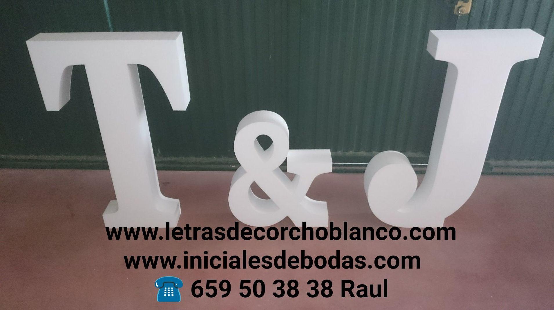 letras de corcho blanco madrid