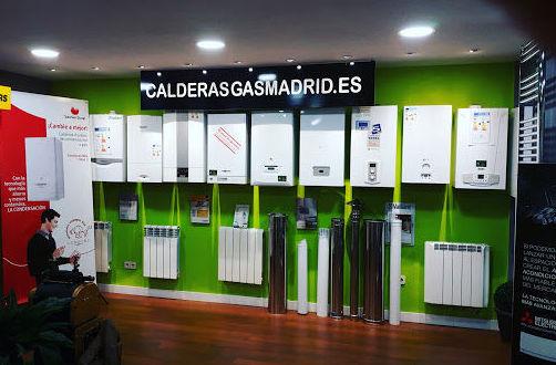 LA MAYOR TIENDA DE CALDERAS DE CONDENSACIÓN EN ALCALA DE HENARES