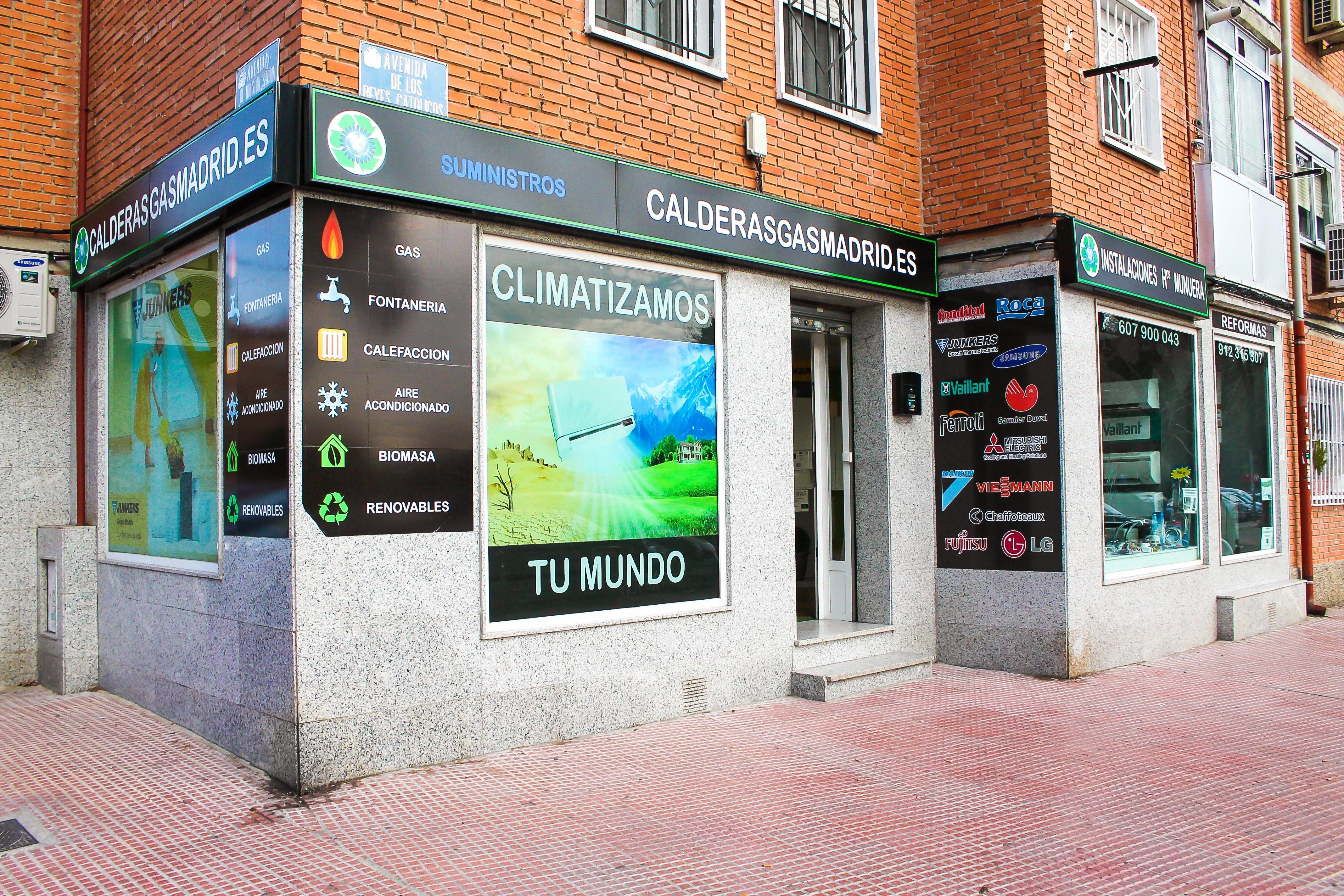 Foto 2 de Calderas en Alcalá de Henares | Instalaciones Hermanos Munuera