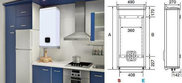 Termo electrico fleck duo 50 l productos de instalaciones - Termo electrico para exterior ...