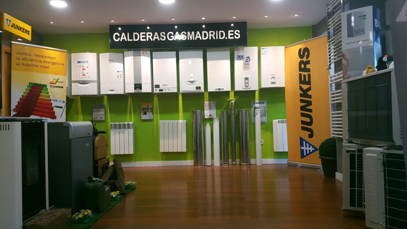 Instalación de calderas Alcobendas, Madrid