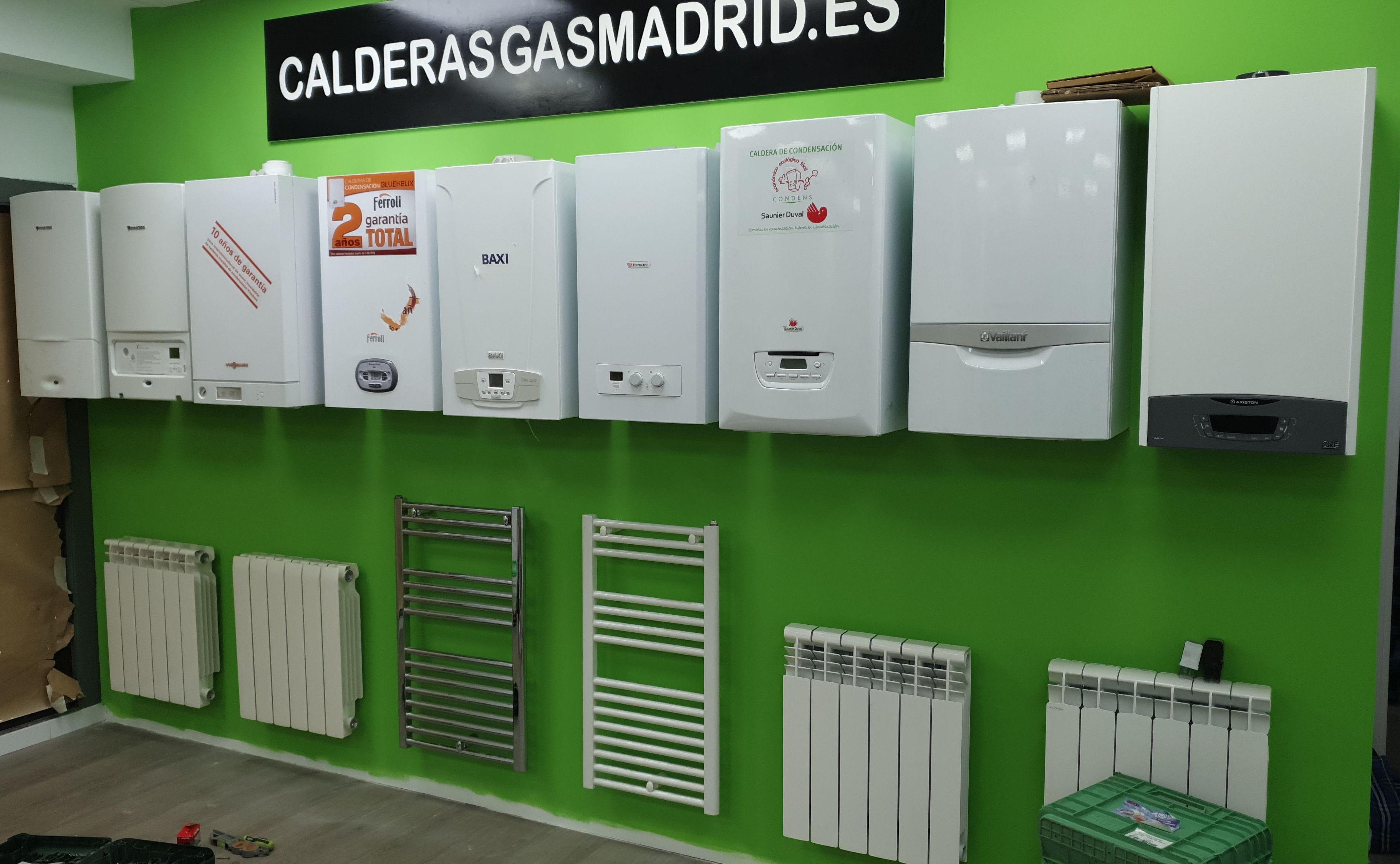 INSTALACION DE CALDERAS ALCALA DE HENARES