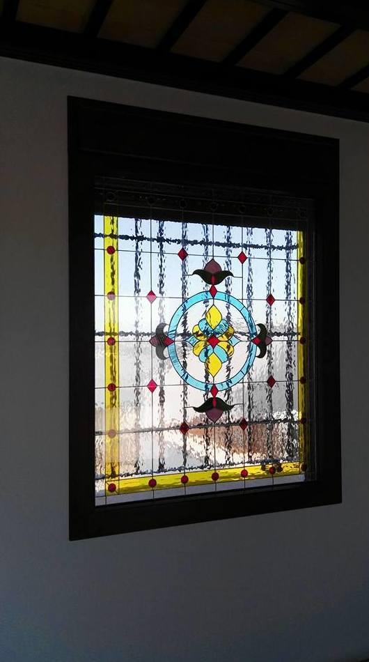 Instalación de vidriera