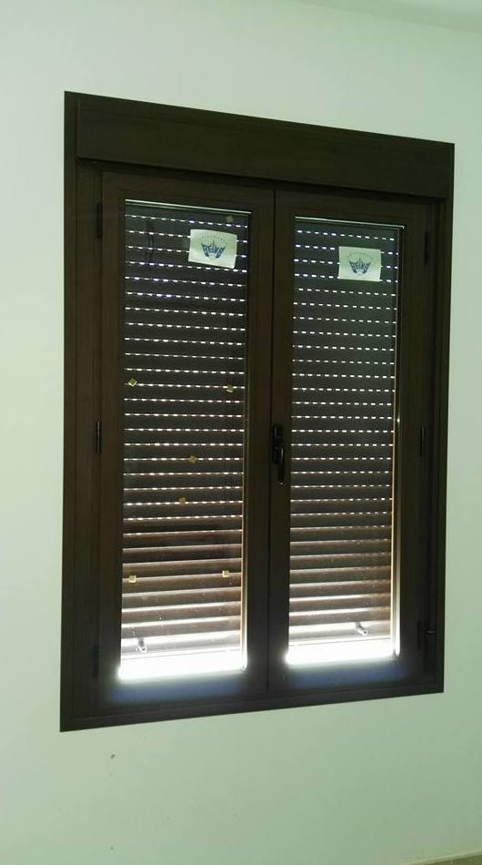 Instalación de ventana de aluminio