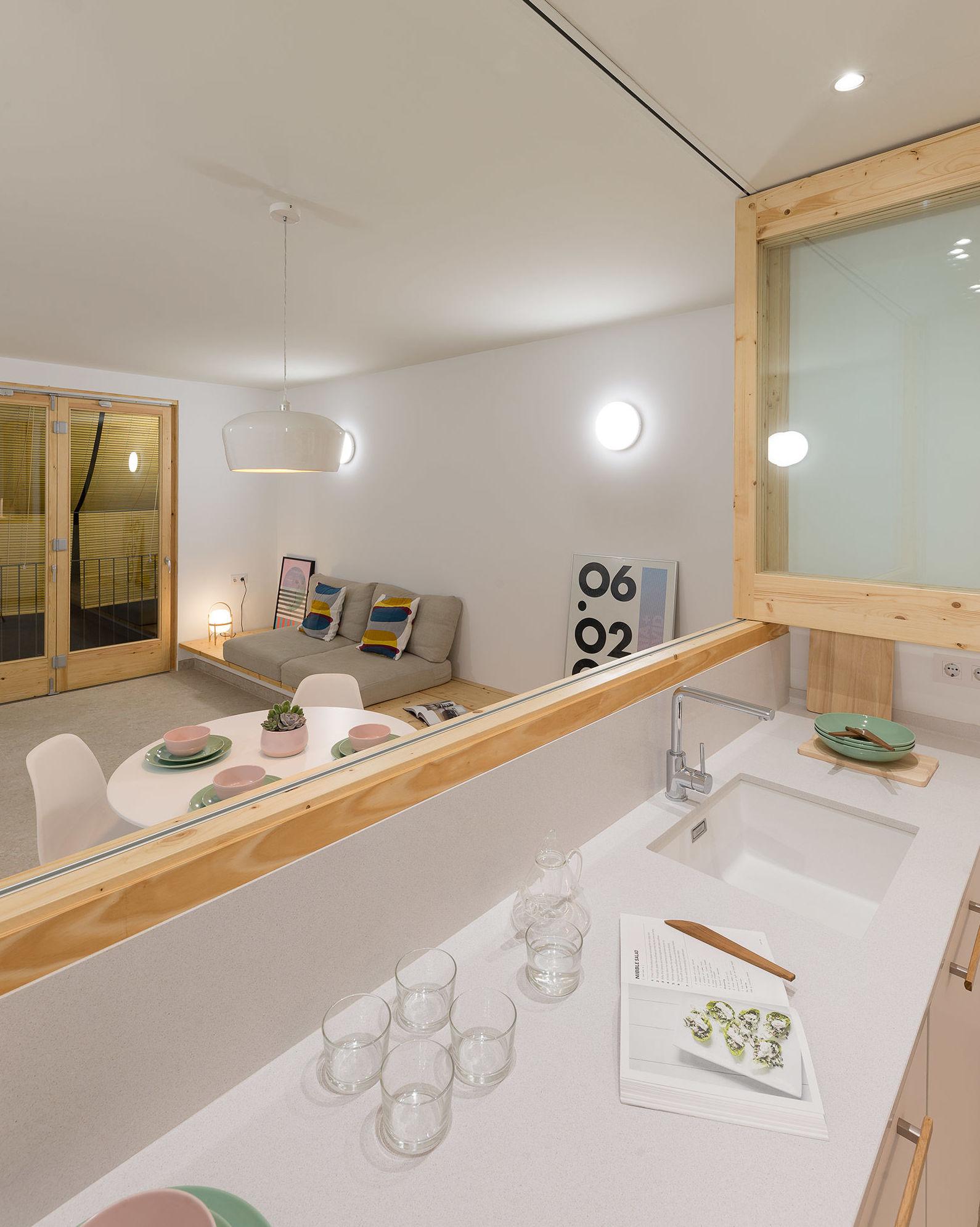 Espacios diáfanos que harán tu vivienda más flexible