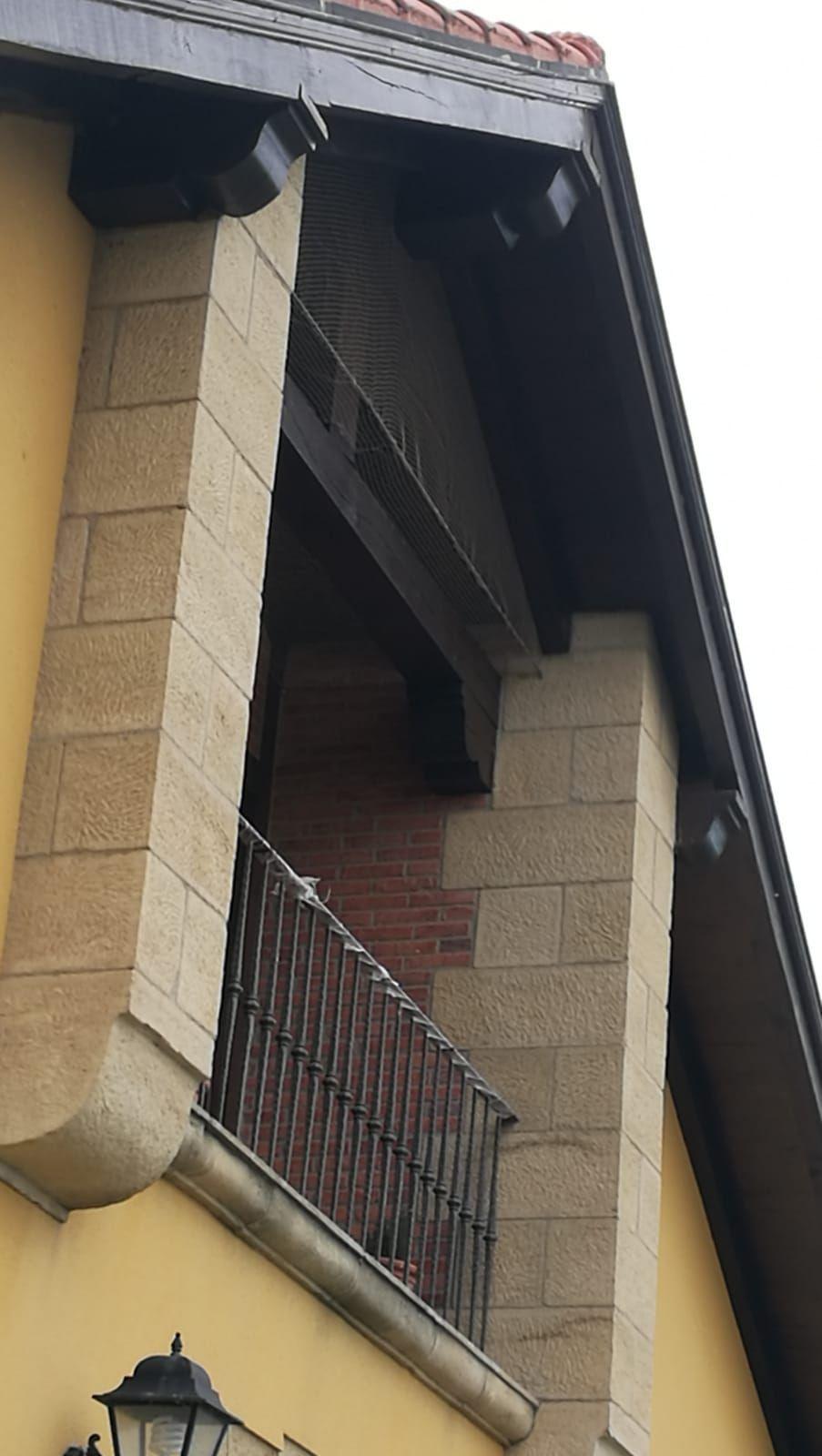 Redes anti aves en Santander