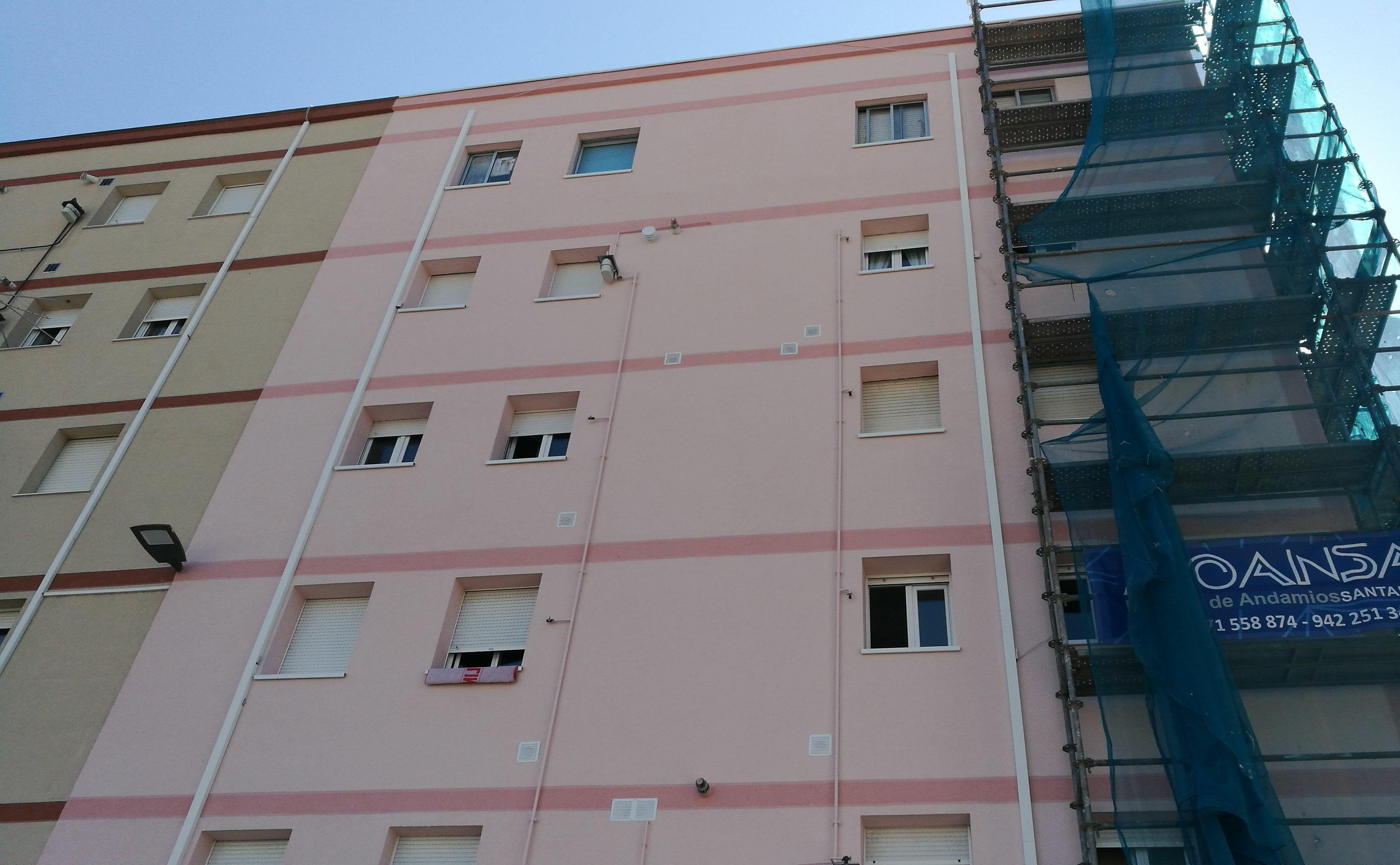 Reparación de fachadas Santander