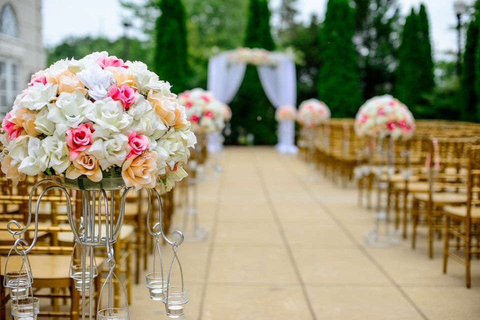 Decoración floral para bodas en Molins de Rei