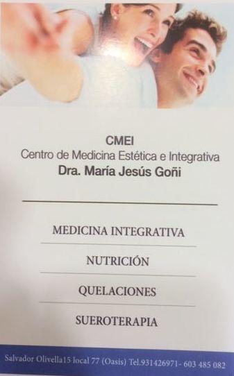 Foto 6 de Medicina estética en Barcelona |  Dra. María Jesús Goñi Anzano