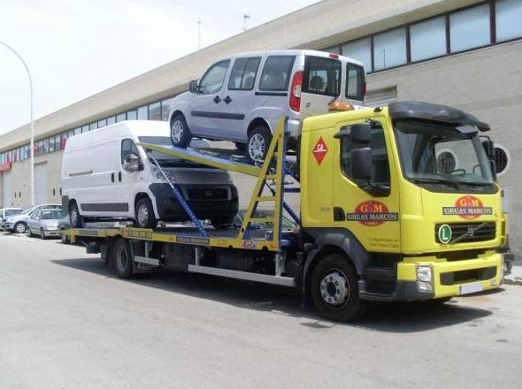 Transporte de vehículos en Cádiz