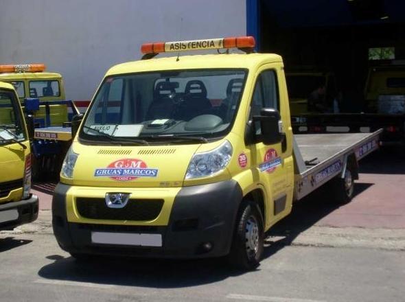 Asistencia en carretera 24 horas en Cádiz
