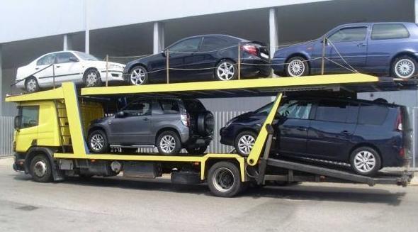Transporte de coches en Cádiz