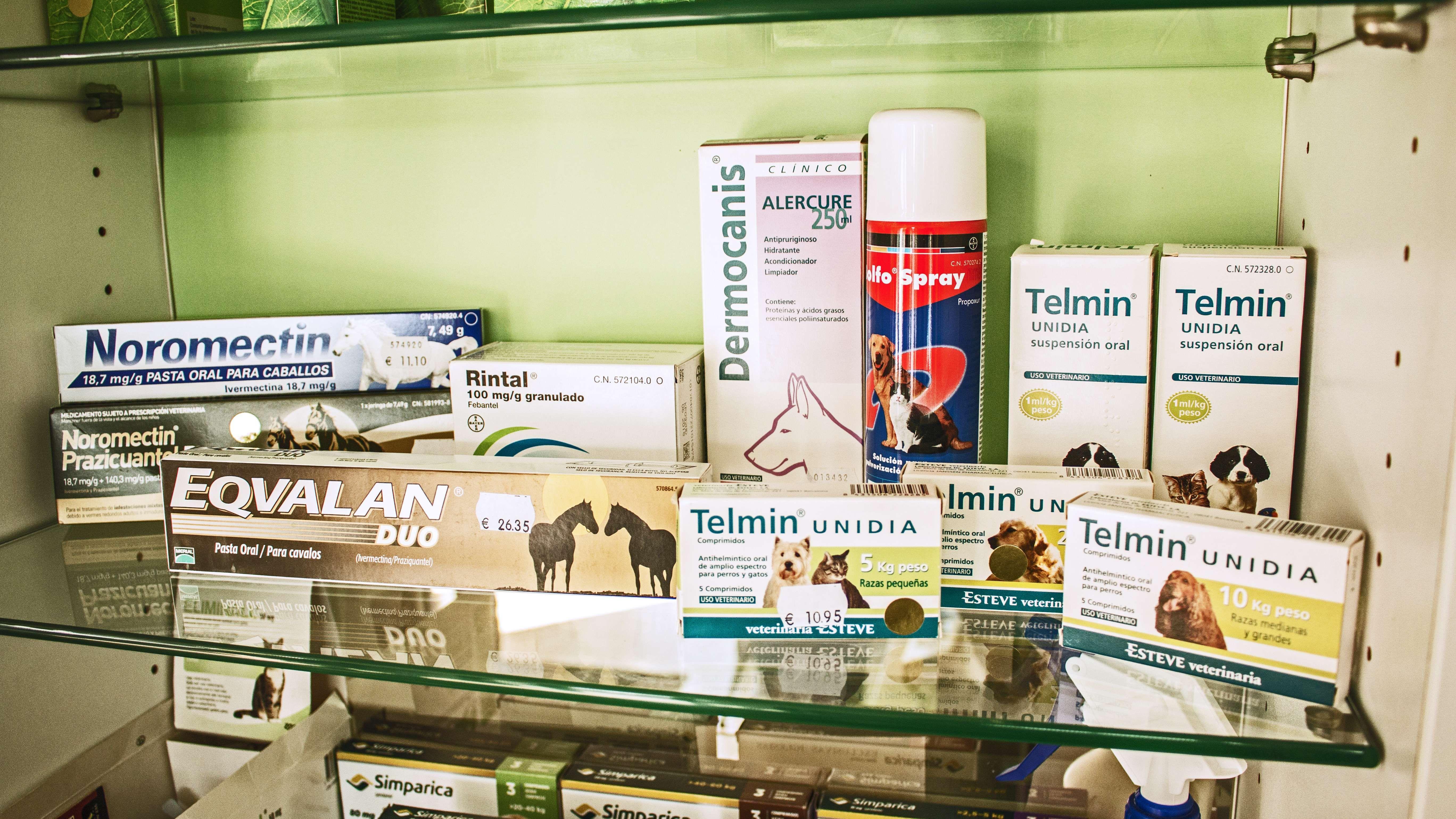 Productos y medicamentos para mascotas en Narón