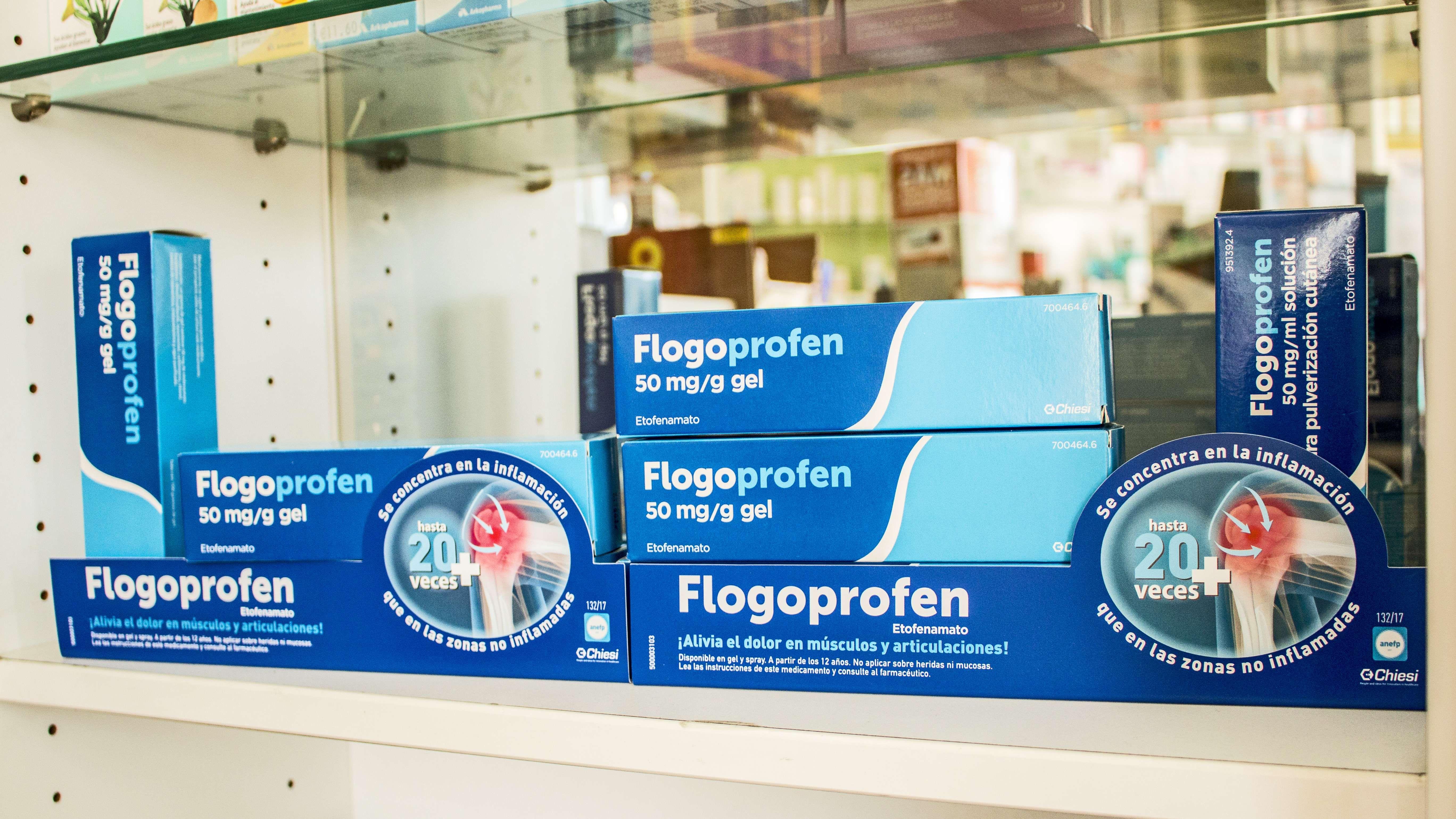 Productos farmacéuticos para las dolencias articulares