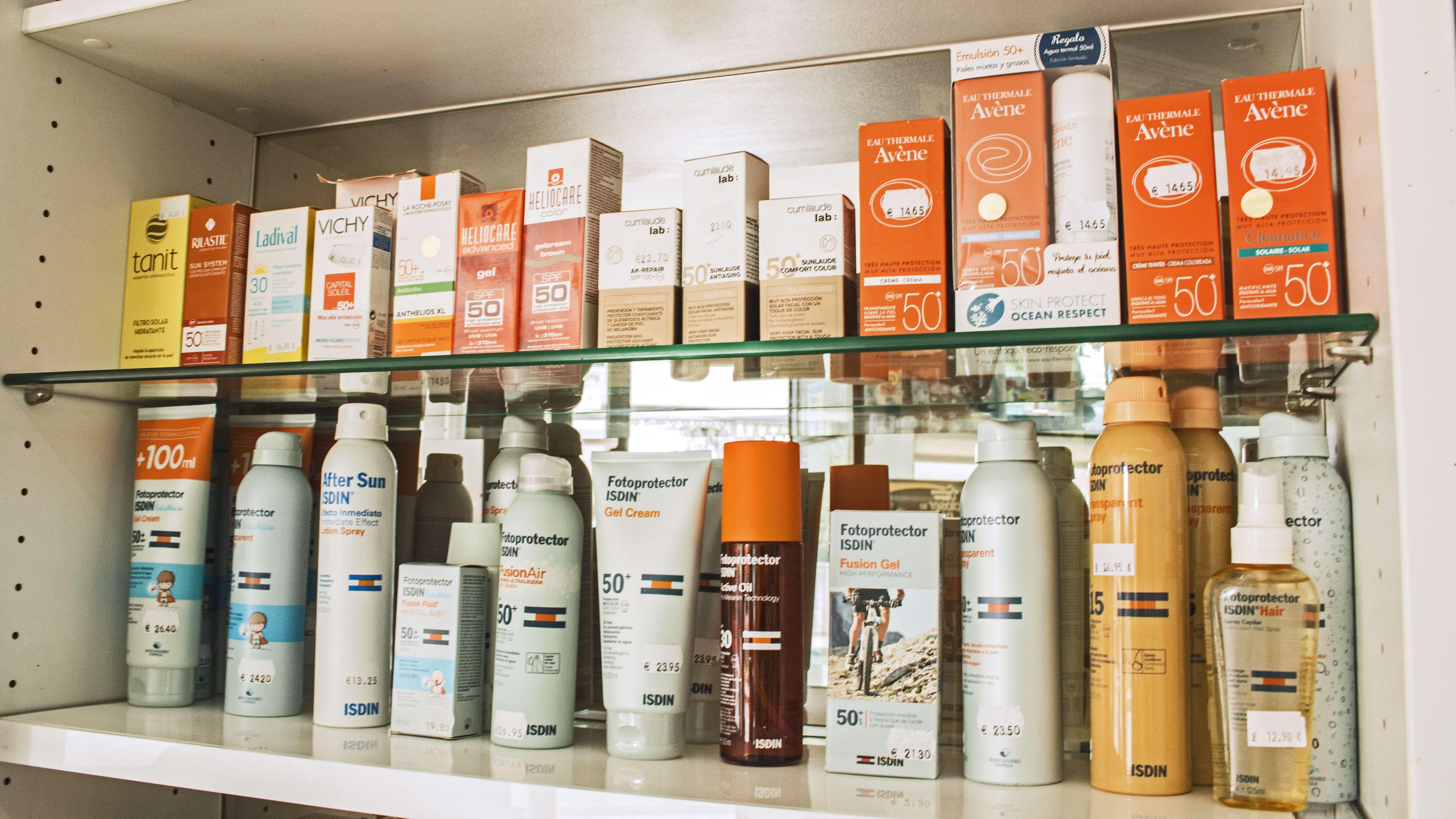 Farmacia de guardia en Narón con productos de protección solar