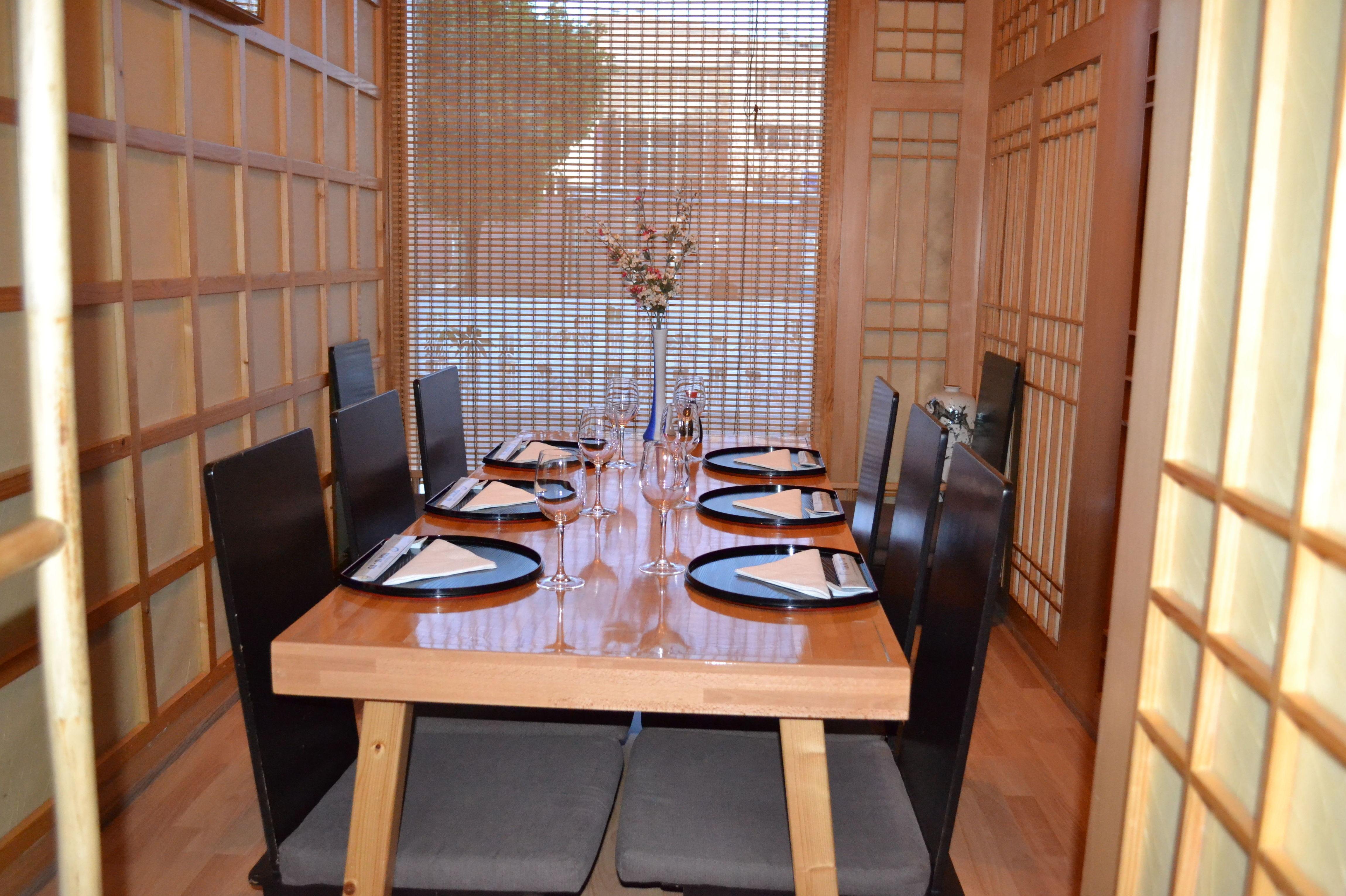 Platos de cocina japonesa en Barcelona