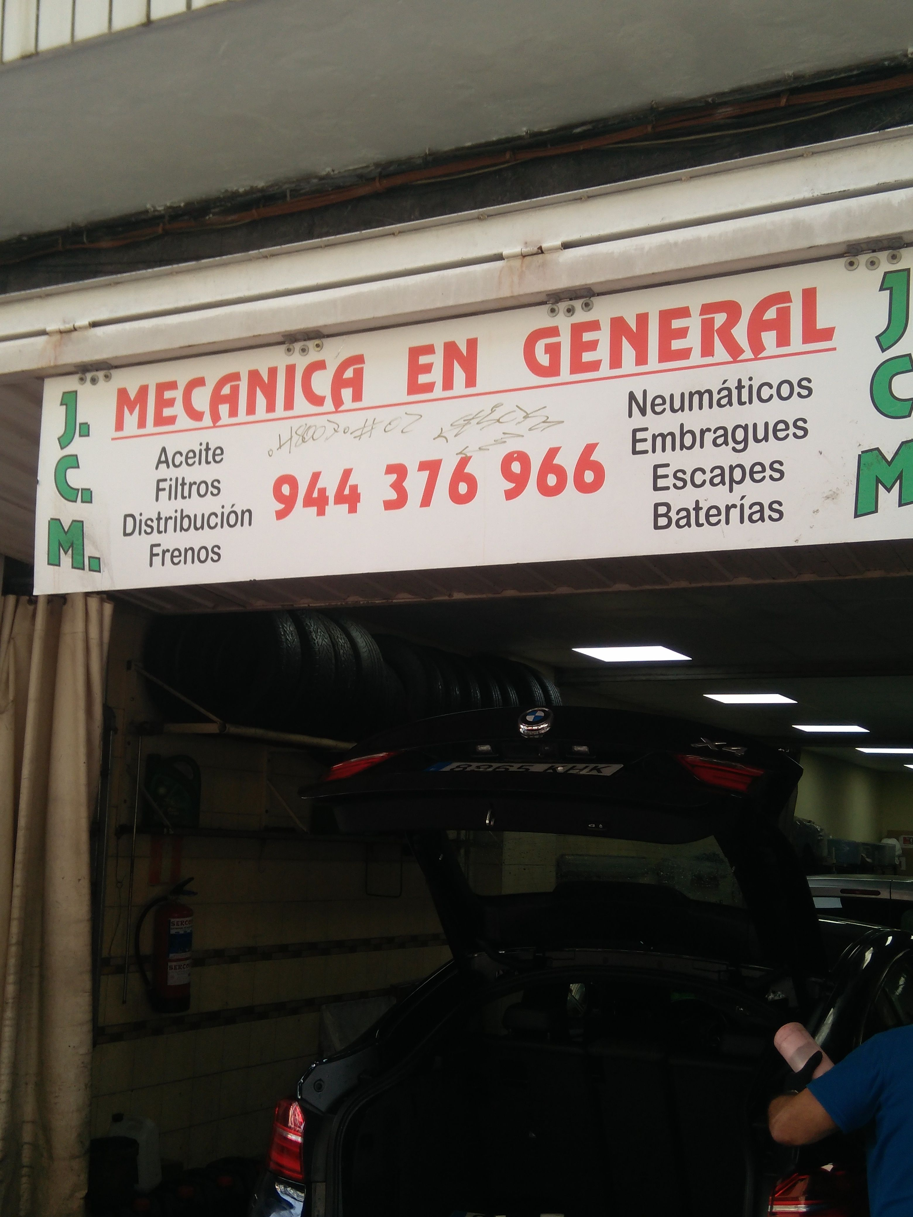 Taller de mecánica en general en Vizcaya
