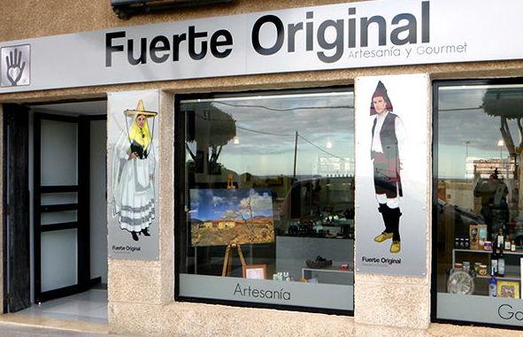 Tienda de artesanía en Puerto del Rosario