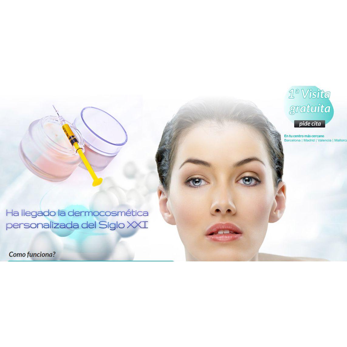 Dermocosmética personalizada: Servicios de Clínica Vicario