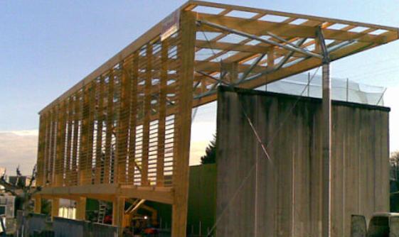 Proyectos de construcción de estructuras de madera